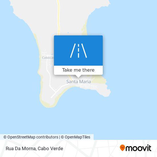 Rua Da Morna mapa