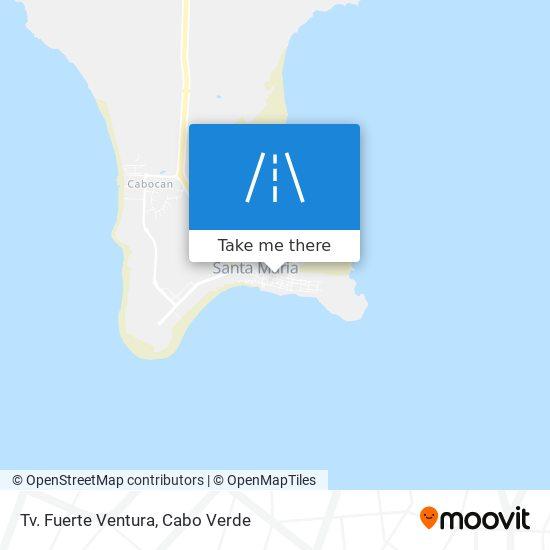 Tv. Fuerte Ventura mapa