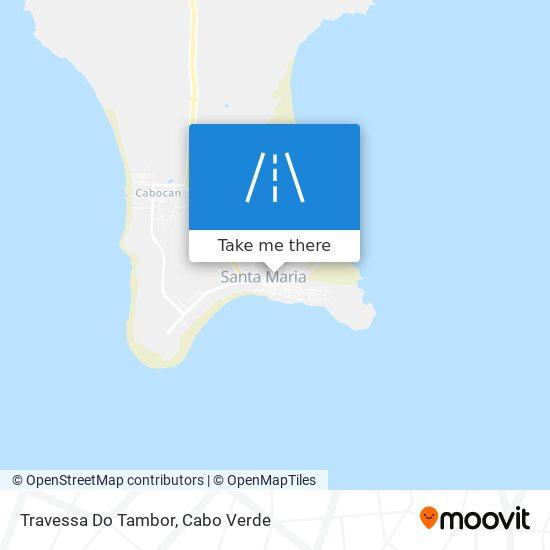 Travessa Do Tambor mapa