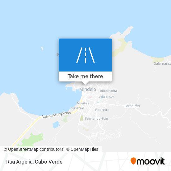 Rua Argelia mapa