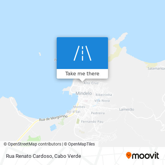 Rua Renato Cardoso mapa