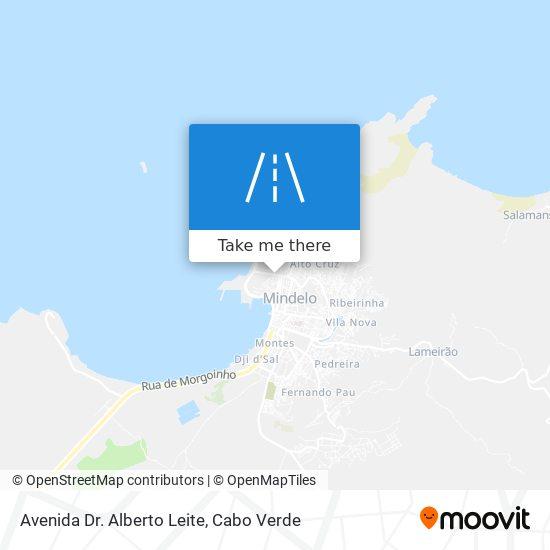 Avenida Dr. Alberto Leite mapa