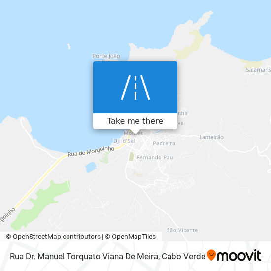 Rua Dr. Manuel Torquato Viana De Meira mapa