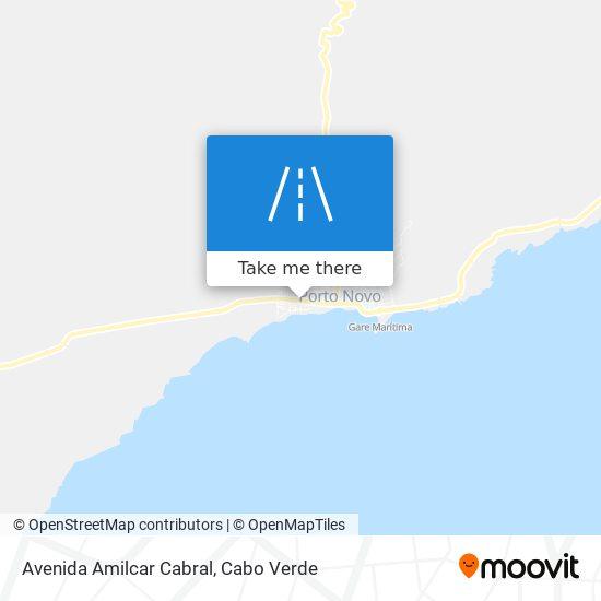 Avenida Amilcar Cabral mapa