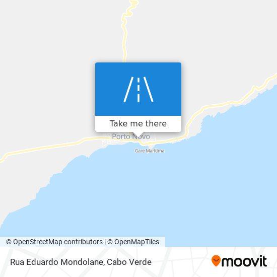 Rua Eduardo Mondolane mapa