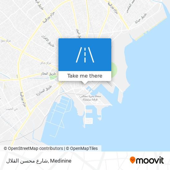 شارع محسن القلال plan