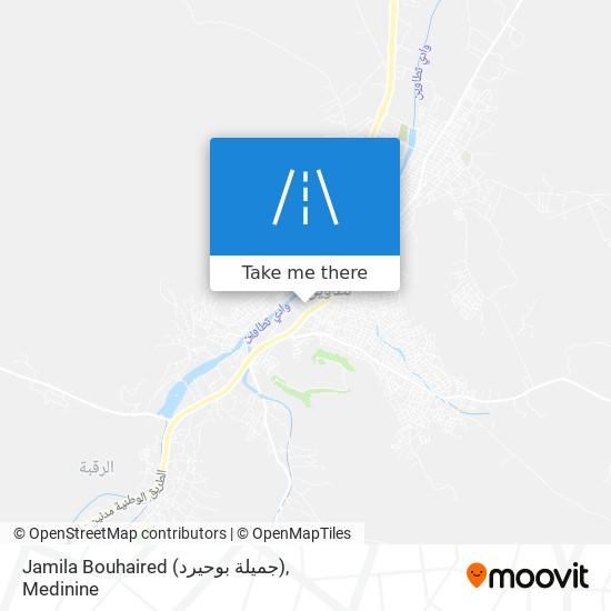Jamila Bouhaired (جميلة بوحيرد) plan