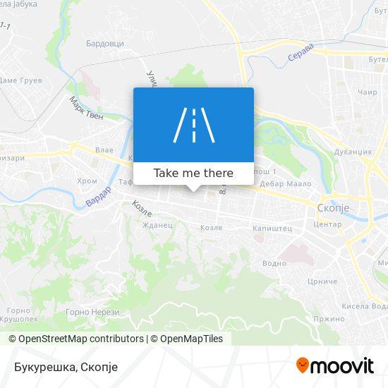Букурешка map