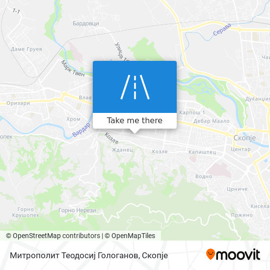 Митрополит Теодосиј Гологанов map