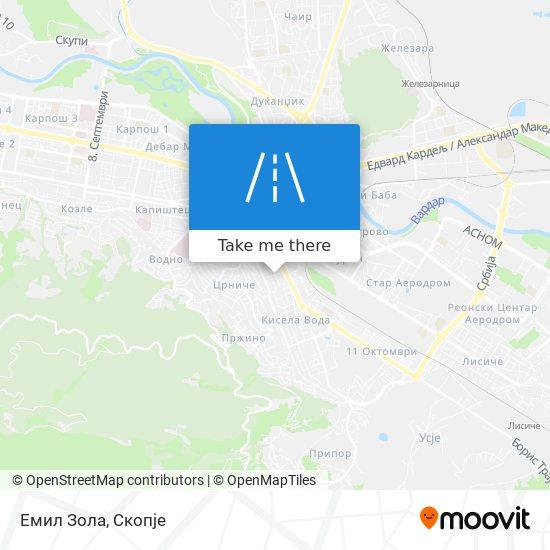Емил Зола map