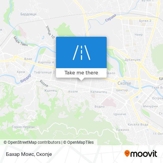 Бахар Моис map
