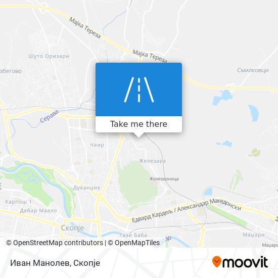 Иван Манолев map