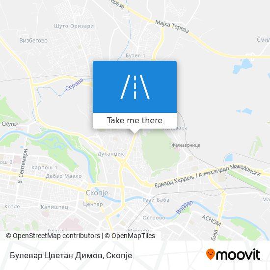 Булевар Цветан Димов map