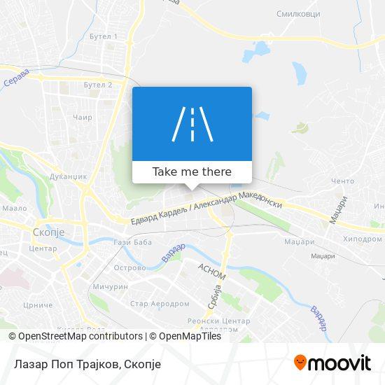 Лазар Поп Трајков map