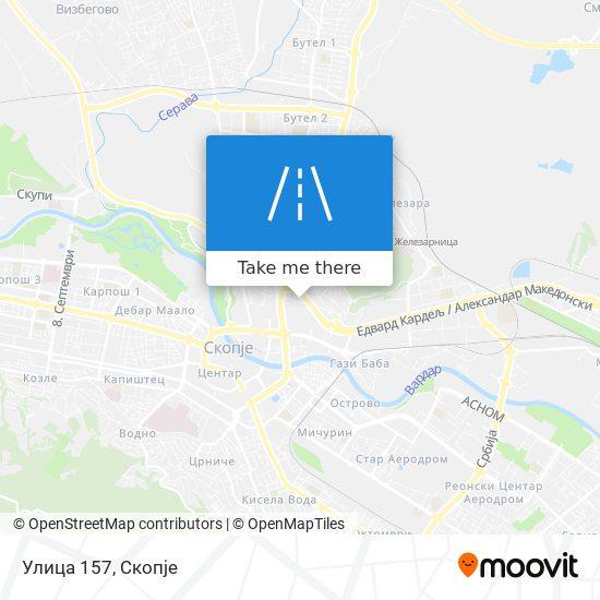 Улица 157 map