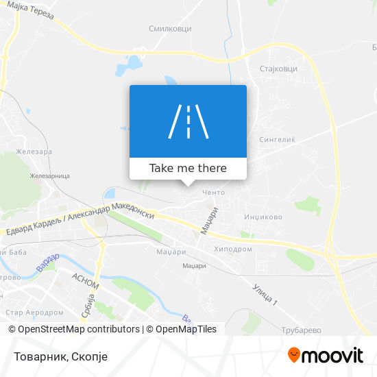 Товарник map