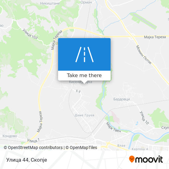 Улица 44 map