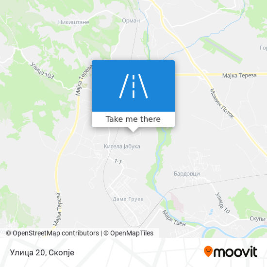 Улица 20 map