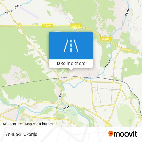 Улица-3 map