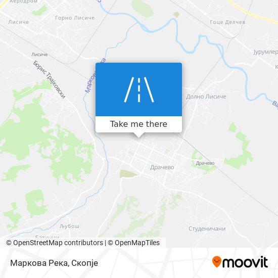 Маркова Река map