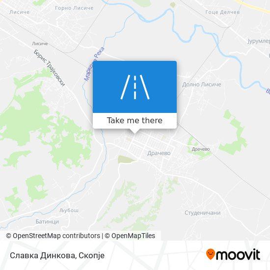 Славка Динкова map