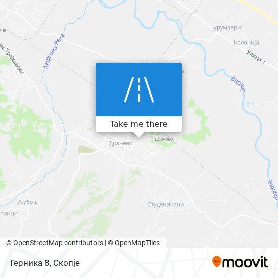 Герника 8 map