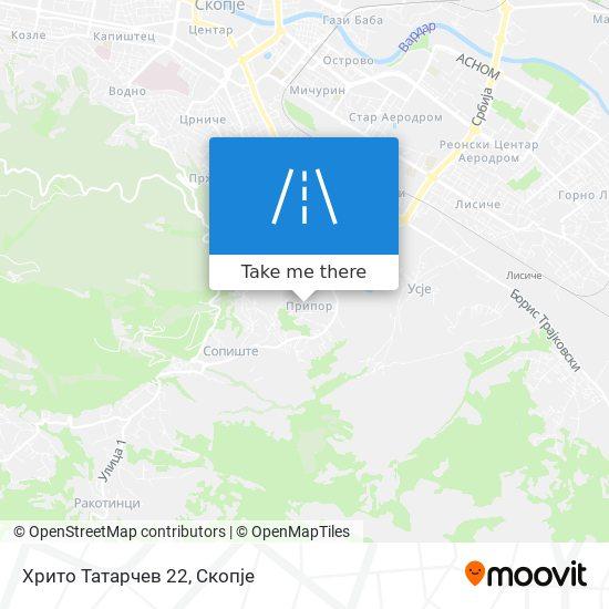 Хрито Татарчев 22 map