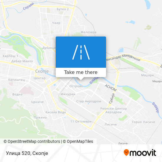 Улица 520 map