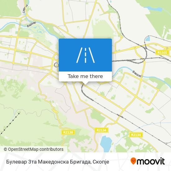 Булевар 3та Македонска Бригада map