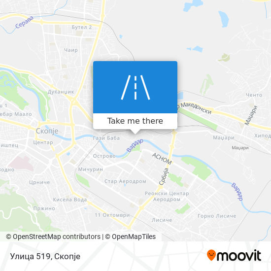 Улица 519 map
