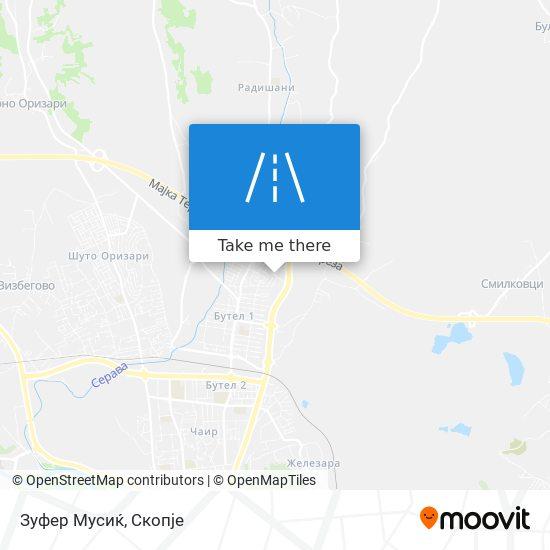 Зуфер Мусиќ map