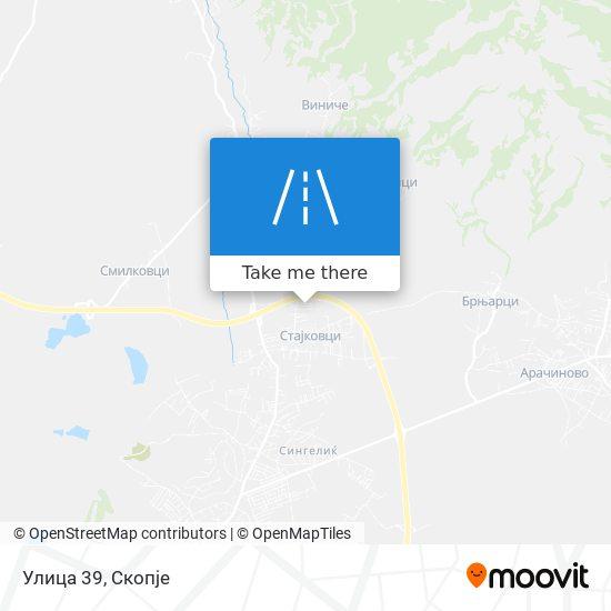 Улица 39 map