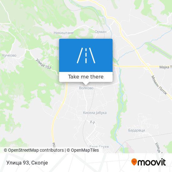Улица 93 map