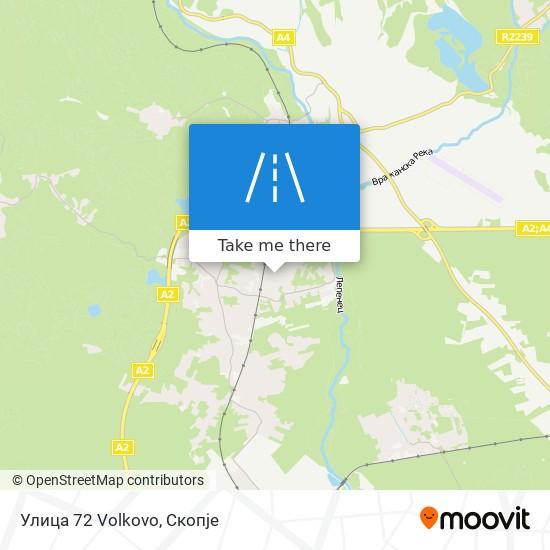 Улица 72 Volkovo map