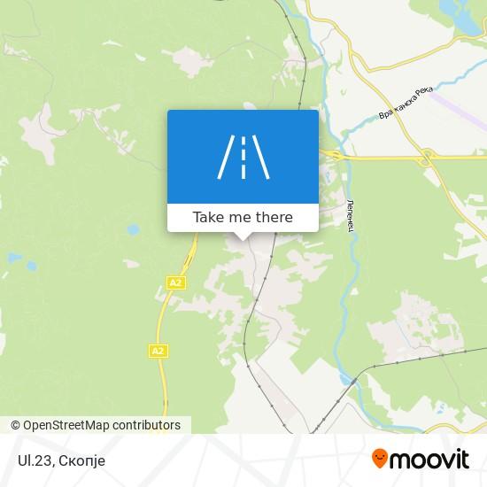 Ul.23 map