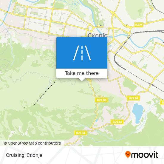 Cruising map