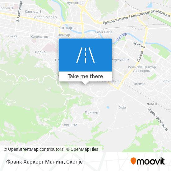 Франк Харкорт Манинг map