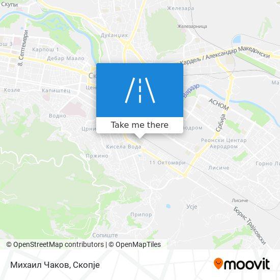 Михаил Чаков map