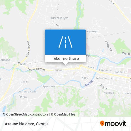 Aтанас Иљоски map