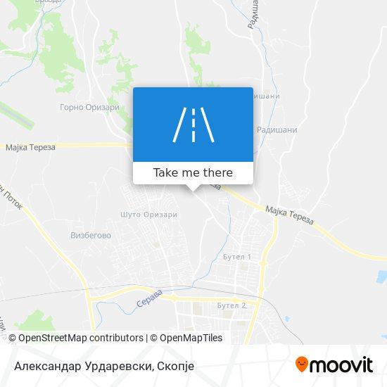 Александар Урдаревски map