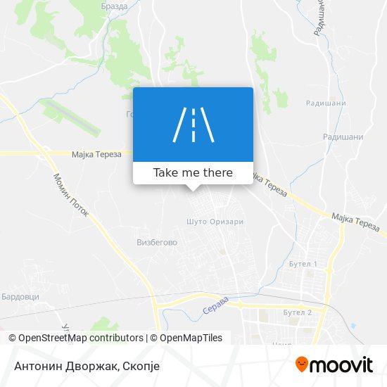 Антонин Дворжак map