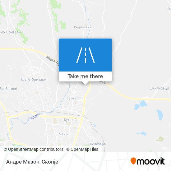 Андре Мазон map