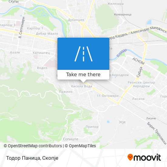 Тодор Паница map