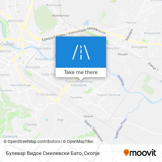 Булевар Видое Смилевски Бато map
