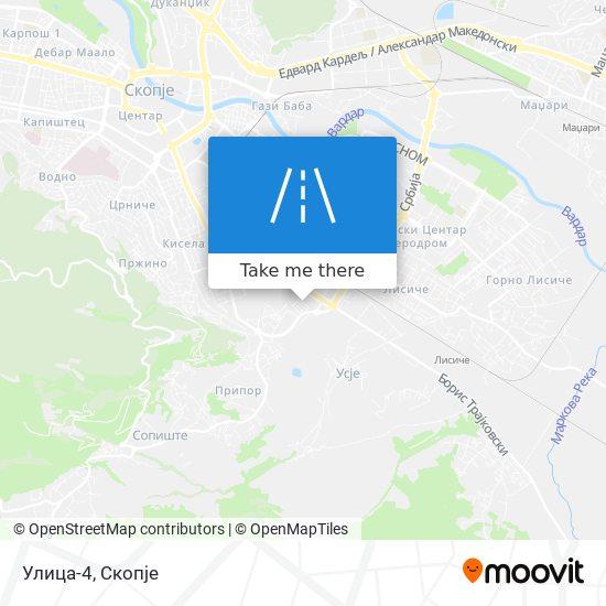 Улица-4 map