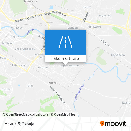 Улица-5 map
