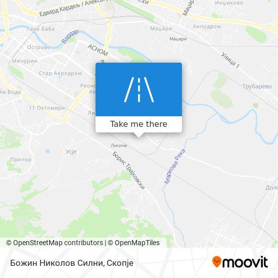Божин Николов Силни map