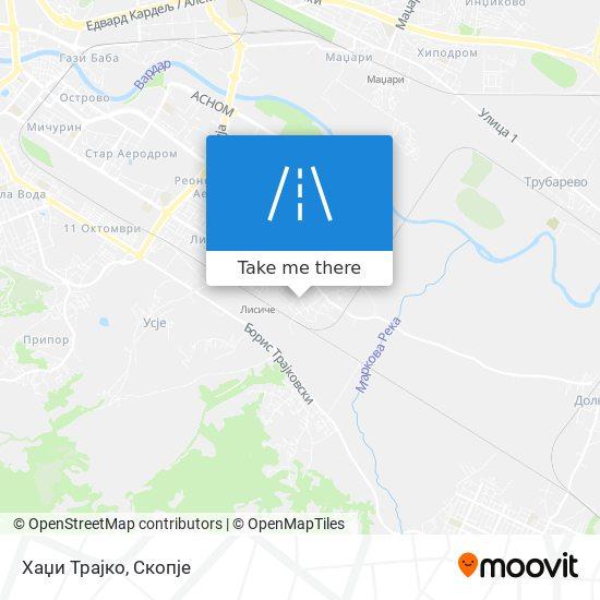 Хаџи Трајко map
