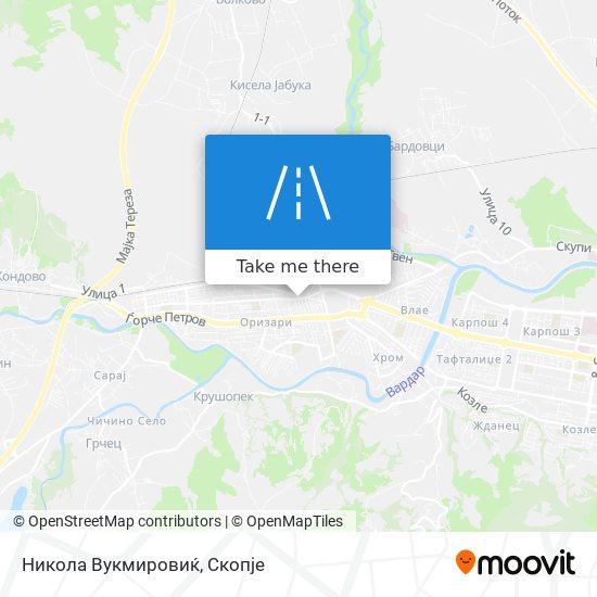 Никола Вукмировиќ map