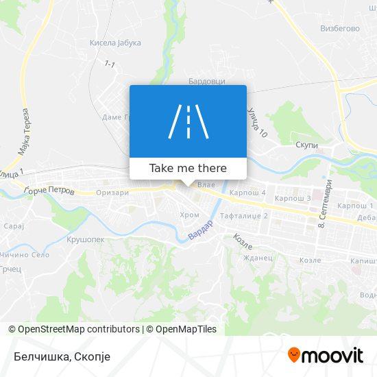 Белчишка map